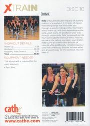 cathe Friedrich XTRAIN #10 Ride DVD indoor cycle workout