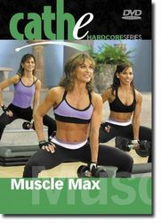 cathe Friedrich Hardcore Series Muscle Max DVD weight training workout