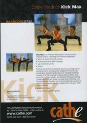 cathe Friedrich - Hardcore Series: Kick Max (DVD)