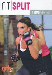 cathe Friedrich fit split Workout Series 4 DVD Set