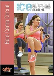 cathe Friedrich ICE Series Boot Camp Circuit interval workout DVD