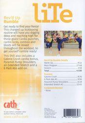 cathe Friedrich LiTe Series Rev'd Up Rumble Kickboxing DVD
