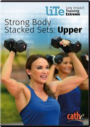 cathe Friedrich LiTe Series Strong Body Stacked Sets Upper DVD