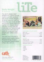 cathe Friedrich LiTe Series Body Weight & Bands DVD