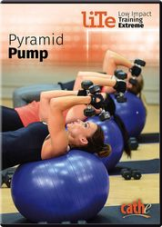cathe Friedrich LiTe Series Pyramid Pump DVD
