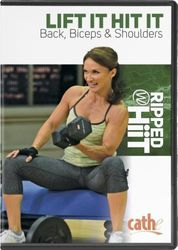 cathe Friedrich Lift It Hit It Back Biceps Shoulders DVD Ripped with HiiT