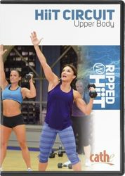 cathe Friedrich Hiit Circuit Upper Body workout DVD Ripped with HiiT