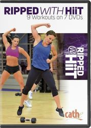 cathe Friedrich Ripped With HiiT 9 workouts 7-DVD-Set complete series