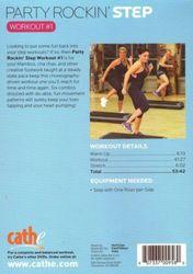 cathe Friedrich Party Rockin' Step Workout #1 DVD