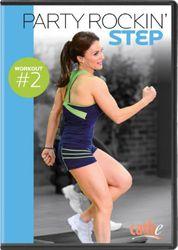 cathe Friedrich Party Rockin' Step Workout #2 DVD