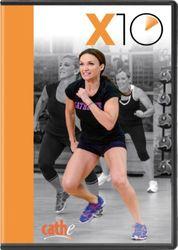 cathe Friedrich X10 DVD high intensity cardio workout