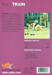 cathe Friedrich Flex Train DVD total body strength toning workout