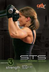 cathe Friedrich STS phase 3 strength optional routines 4-DVD-Set