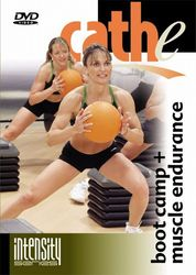 cathe Friedrich boot camp + muscle endurance DVD high rep conditioning