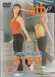 cathe Friedrich Low Impact Step + Total Body Sculpting DVD