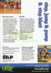 cathe Friedrich body blast series step, jump & pump & step blastl DVD