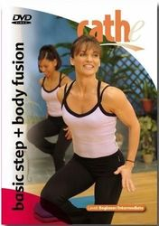 cathe Friedrich basic step + body fusion DVD