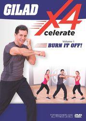 Gilad Xcelerate4 Volume 1 Burn It Off! DVD cardio fat burning workout