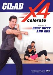 Gilad Xcelerate4 Volume 3 Best Butts And Abs DVD toning workout
