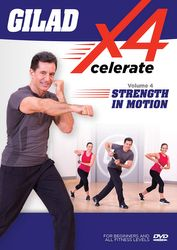 Gilad Xcelerate4 Volume 4 Strength In Motion DVD fat burning workout