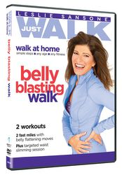 Leslie Sansone Just Walk Belly Blasting Walk DVD