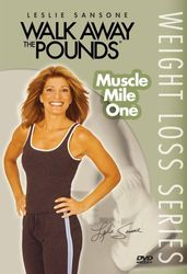 Leslie Sansone Walk Away The Pounds Weightloss Muscle Mile One Walking DVD