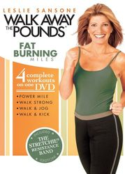 Leslie Sansone Walk Away The Pounds Fat Burning Miles DVD