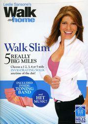 Leslie Sansone Walk at home Slim 5 Really Big Miles DVD mit Toning Band
