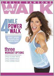 Leslie Sansone Just Walk 4 Mile Power Walk DVD