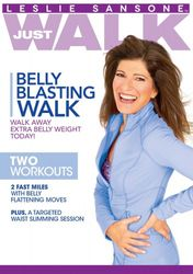 Leslie Sansone Just Walk Belly Blasting Walk DVD