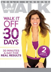 Leslie Sansone Just Walk It Off In 30 Days DVD