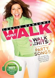 Leslie Sansone Just Walk To The Hits: Party Songs DVD