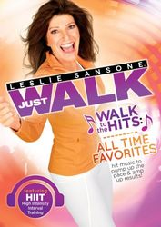 Leslie Sansone Just Walk To The Hits All Time Favorites DVD