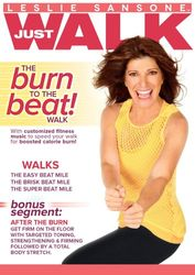 Leslie Sansone Just Walk The burn To The beat Walk DVD