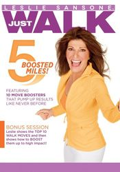 Leslie Sansone Just Walk 5 Boosted Miles DVD