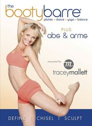 Tracey Mallett the booty barre plus Abs & Arms DVD ballet workout