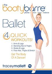 Tracey Mallett the booty barre Ballet DVD