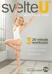 Tracey Mallett svelte U workout one DVD Pilates