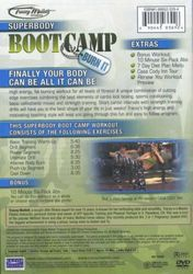 Tracey Mallett Fitness Superbody Bootcamp Burn It DVD