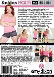 amy dixon Breathless Body Volume 2 The Edge DVD calorie burn workout