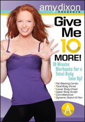 amy dixon Give me 10 More DVD toning calorie burn workout