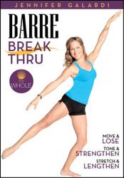 Jennifer Galardi Barre Breakthrough Ballett Workout DVD