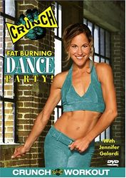 CRUNCH Fat Burning Dance Party - Jennifer Galardi (DVD)