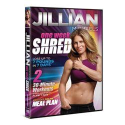 Jillian Michaels One Week Shred DVD