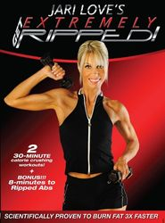 Jari Love Get Extremely Ripped DVD high rep calorie burn weight loss workout