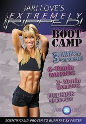 Jari Love Get Extremely Ripped Boot Camp DVD core strength cardio