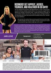 Jari Love Get Ripped and Jacked DVD resistance strength  isolation