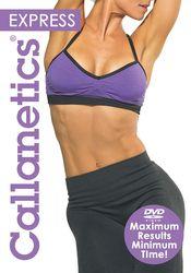 Callanetics Express Lacey Kondi DVD advanced total body Toning workout
