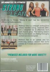 30 Minutes To Fitness: Strong And Lean - Kelly Coffey-Meyer - Workout DVD