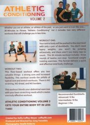 30 Minutes To Fitness Athletic Conditioning Volume 2 Kelly Coffey-Meyer DVD